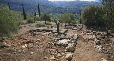 O μυκηναϊκός οικισμός στα Τζαννάτα Κεφαλληνίας (Οκτώβριος 2011)