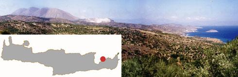 Εικ. 10. Η περιοχή του Μόχλου από νοτιοανατολικά.