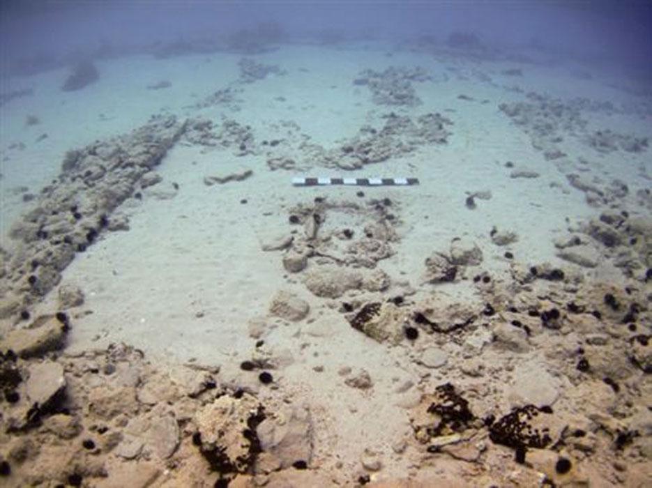 Υποβρύχια αρχαιολογικά κατάλοιπα στο Παυλοπετρι