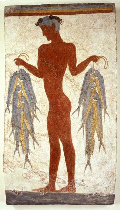 Η τοιχογραφία του «Ψαρά»