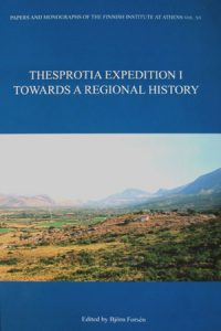 Thesprotia Expedition I. Towards a Regional History