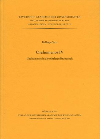Orchomenos IV. Orchomenos in der mittleren Bronzezeit