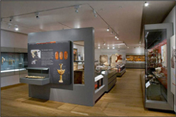 The new Aegean World gallery in the redeveloped Ashmolean Museum