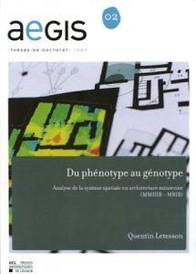 Du phénotype au génotype. Analyse de la syntaxe spatiale en architecture minoenne (MM IIIB – MR IB)