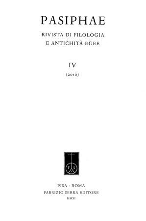 Pasiphae vol. IV