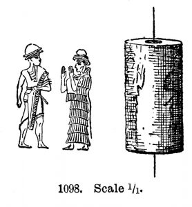 Seal 1098. Scale 1:1.
