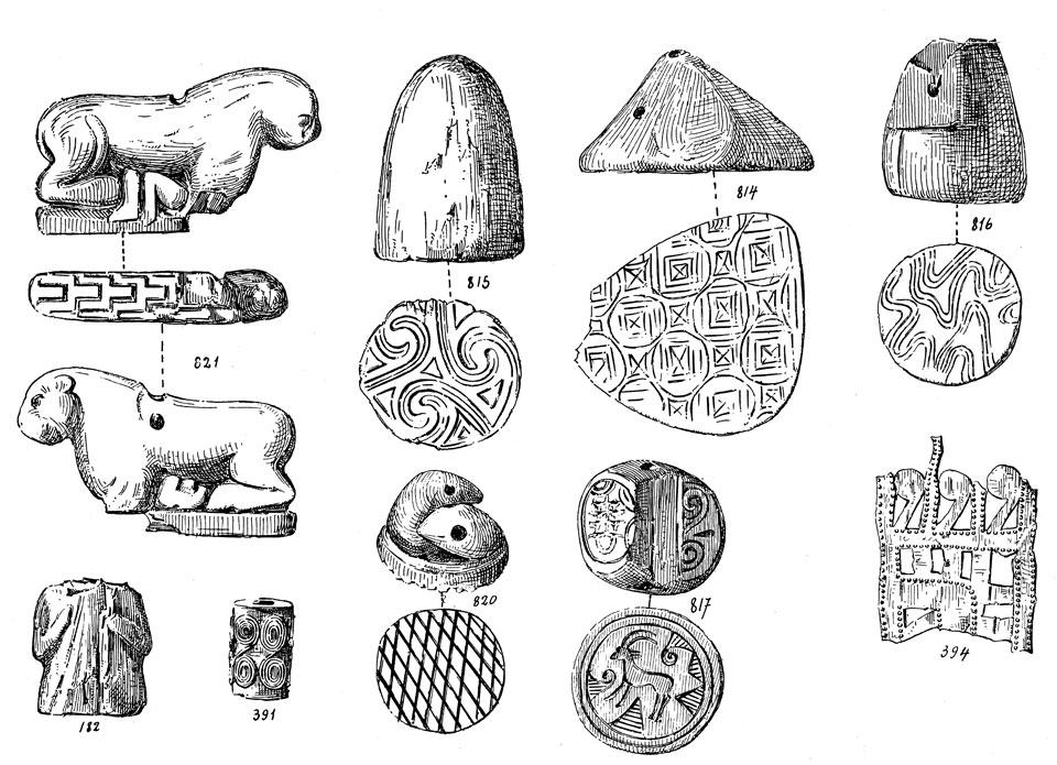 <p> S. Xanthoudides, <em>The Vaulted Tombs of Mesara </em>(1924), pl. VIIIb</p>