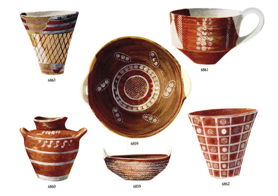 <p>S. Xanthoudides, <em>The Vaulted Tombs of Mesara</em> (1924), pl. IX</p>