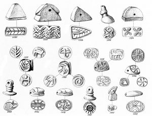 Platanos. Stone seals. Scale 1:1.