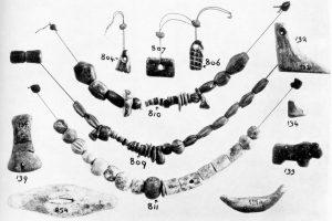 Koumasa, jewelry. Scale 5:6.