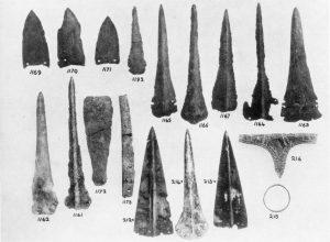 Koumasa, metal objects. Scale 1:3.