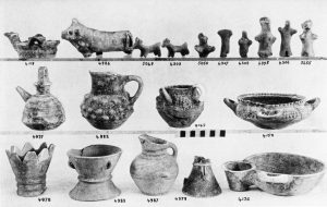 Koumasa, clay vases, etc. (M.M.I). For 5655 read 5055.