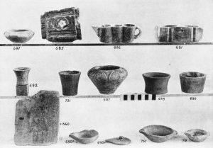 Koumasa, stone vases, etc.