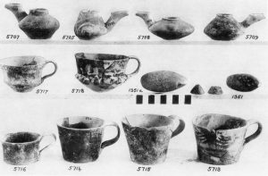 Kalathiana, clay vases (M.M.I and II), etc.