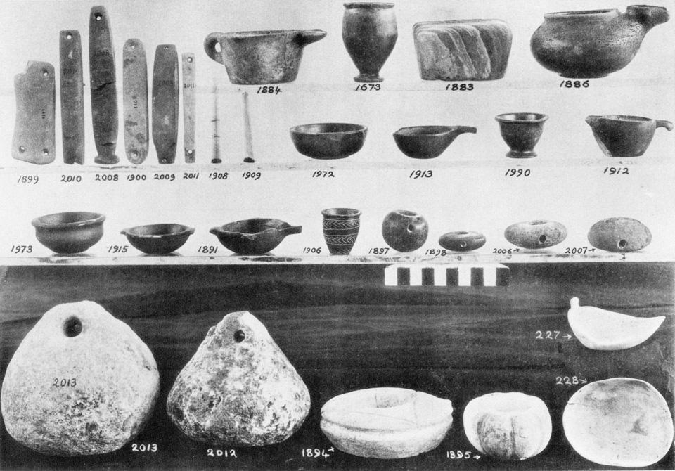 <p> S. Xanthoudides, <em>The Vaulted Tombs of Mesara</em> (1924), pl. LIV</p>