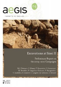 Excavations at Sissi II. Preliminary Report on the 2009-2010 Campaigns