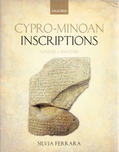 Cypro-Minoan Inscriptions volume 1: Analysis
