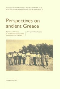 Perspectives on ancient Greece. Papers in celebration of the 60th anniversary of the Swedish Institute at Athens