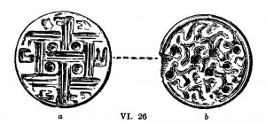 Seal from Tomb VI. Scale 1:1.