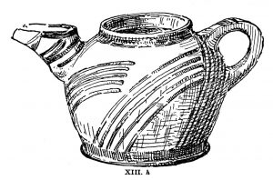 Side-spouted jug from Tomb XIII. Scale 1:2.
