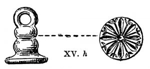Seal from XV. Scale 1:1.