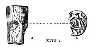 Seal from Tomb XVIII. Scale 1:1.
