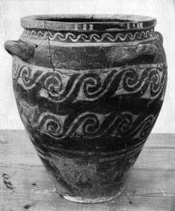 M.M. III Burial Jar. Scale 1:5.