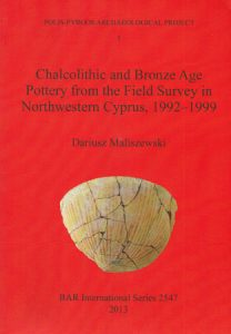 Chalcolithic and Bronze Age Pottery from the Field Survey in Northwestern Cyprus, 1992-1999