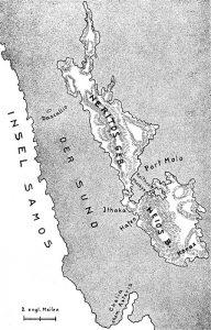 Die homerische Insel Ithaka-Thiaki, nach W. Gell.