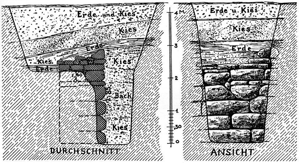 <p> W. Dörpfeld, <em>Alt-Ithaka</em> (1927), vol. I,&nbsp; fig. 7</p>