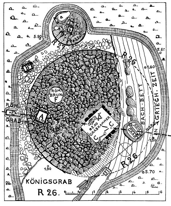 <p> W. Dörpfeld, <em>Alt-Ithaka</em> (1927), vol. I, fig. 20</p>
