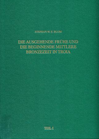 Die ausgehende frühe und die beginnende mittlere Bronzezeit in Troia. Archäologische Untersuchungen zu ausgewählten Fundkomplexen der Perioden Troia IV und Troia V. Band 4, 1-2