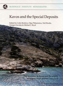 Kavos and the Special Deposits. The Sanctuary on Keros and the Origins of Aegean Ritual Practice: the Excavations of 2006–2008 (Volume II)