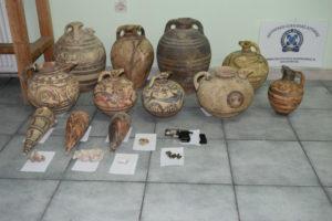 Νυχτοφύλακας αφαιρούσε αρχαία μνημεία από μουσείο στη Σαντορίνη