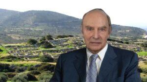Έφυγε από τη ζωή ο ηρωικός αρχαιολόγος που έσωσε μνημεία και αρχαιολογικές περιοχές στην Κρήτη